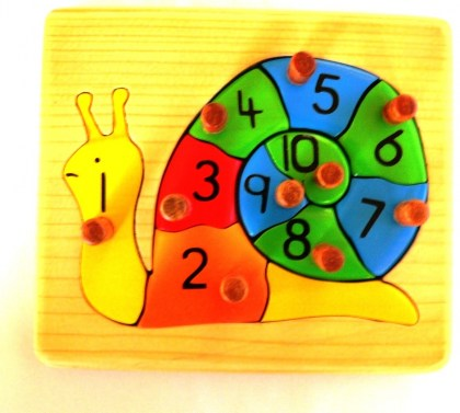 MT026  Snail Number Puzzle